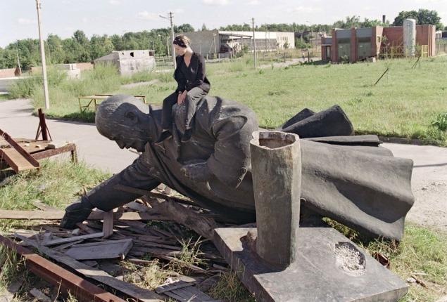 Lenin fall