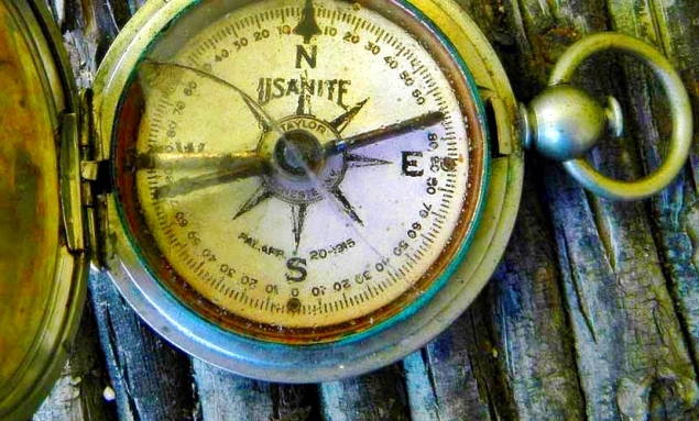 Damaged Compass