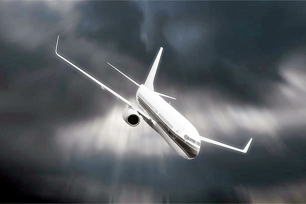 airplane-falling-from-cloudy-sky
