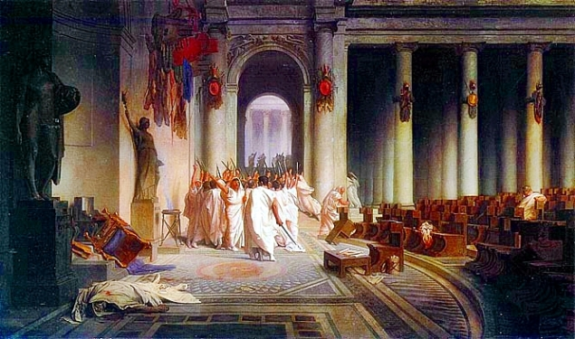 Death_of_Caesar_by_Gerome