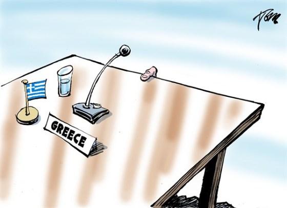 Greek finger